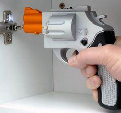 Gun shaped screwdriver!