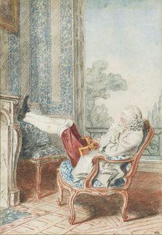Monsieur de Mornay, gouverneur de Saint-Cloud, Louis Carrogis dit Carmontelle