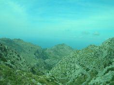 Sa Calobra, Mallorca through Tramuntana Mountains