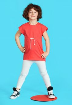 Raspberry tunic, #colours #summer #kidsclothes #converse