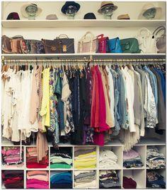 42 super ideas small clothes closet organization bedrooms walk in Apartment Closet Organization, Small Bedroom Organization, Bedroom Closet Storage, Diy Bedroom, Trendy Bedroom, Master Bedroom, Bedroom Cleaning, Modern Bedroom, Organizing Walk In Closet