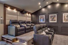 Home theater garage conversion