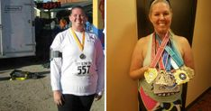 """This Woman Lost 100 Pounds After Realizing Her Daughter Couldn't Hug Her Anymore  Dek:  Meagan Wilson opens up about how running changed her life as she gears up to complete the TCS New York City Marathon.  Growing up I was always a """"big kid""""so it's safe to say that I've struggled with weight my whole life. I was constantly teased about the way I looked and found myself turning to food for comfort. It came to a point where I thought that if I even looked at something to eat I would gain a…"""