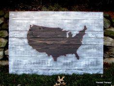 pallett art of USA