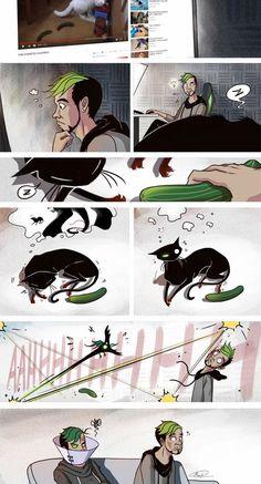 Scared+cat+by+maskman626.deviantart.com+on+@DeviantArt