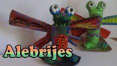 Manualidades para Niños: Alebrijes// DIY Mexican Crafts
