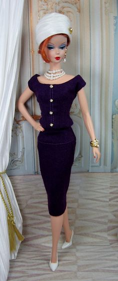 Night Rose for Silkstone Barbie and Victoire by MatisseFashions