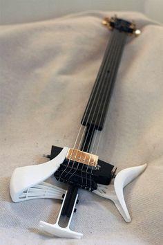 Zoybar TOR: The Guitar Made With a 3D Printer