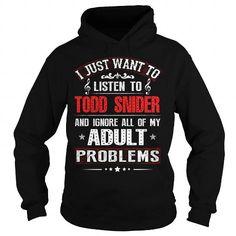 I Love Love TODD SNIDER T-Shirts