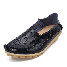 Womens Flats Loafers New Women Real Leather Shoes Moccasins Mother Loafes Soft Women Brand Shoes 2017 Woman Soft Sole red black