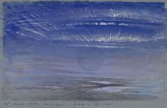 https://flic.kr/p/9Lc1Lo   study of dawn..   john ruskin's depiction of early morning skies at denmark hill in march, 1868..