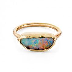 Brooke Gregson Opal Ring #bijoux #bijouxcreateur #bijoux2016 #jewelry #trends2016