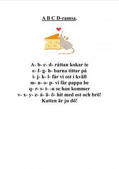 Mariaslekrum - Alla inlägg under april 2009 Learn Swedish, Swedish Language, Pre School, School Supplies, Kindergarten, Singing, Teacher, Writing, Education
