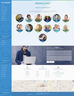 Brand new website for this multi-location dental practice http://www.rejuvadent.co.uk/