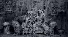 """I Fink U Freeky"" Die Antwoord (2012) Artistic Direction: Roger Ballen Directed by: Roger Ballen & Ninja"