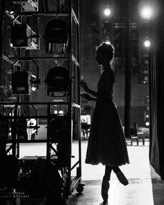 Dorothee Gilbert backstage / Photo © Jack Devant
