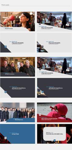 CIELO /// Channel Proposal Rebrand by Alkanoids, via Behance