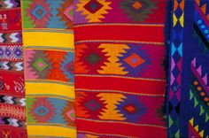 Mexican colours and textures