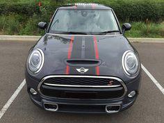 Thunder Grey with bespoke stripes - 2015 Mini Cooper Forum