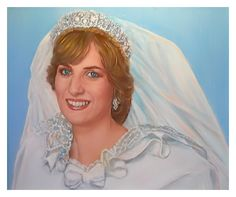 paintings and art of princess diana - Google Search