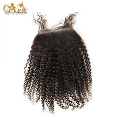 "10""-20"" Brazilian Virgin Hair Afro Kinky Curly Lace top Closure Color Natural Black Baby Hair for Black Women 2016 - $58.08"