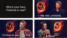 Oh I love Josh! Haha batman!