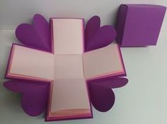 Art and Craft: How to make basic Explosion Box, My Crafts and DIY Projects