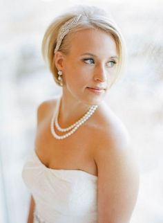 Wedding Hairstyles for Short Hair 2014