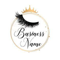 makeup logo – Hair and beauty tips, tricks and tutorials Custom Logo Design, Custom Logos, Business Logo, Business Design, Business Names, Eyelash Logo, Eyelash Case, Lashes Logo, Lash Quotes