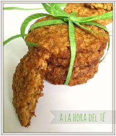 A la hora del té: Galletas de avena con zumo de naranja Baked Potato, Cookie Recipes, Healthy Life, Bakery, Muffin, Cookies, Chicken, Meat, Ethnic Recipes