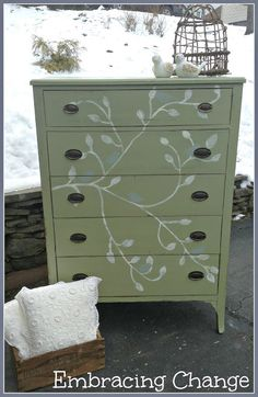 Embracing Change: Bye Bye Birdie Dresser
