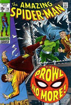 Amazing Spider-Man # 79 by John Romita