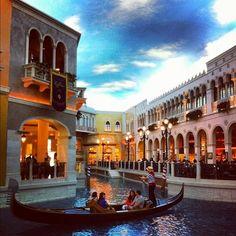 The Venetian Las Vegas #teamchallenge headquarters