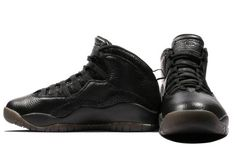 "Air Jordan 10 Retro Drake OVO ""Black"" Black-Metallic Gold 819955-030 7ee2ae9c7"