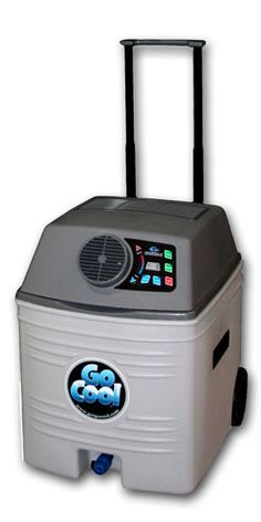 GoCool - 12 Volt Portable Air Conditioner...normally I would scoff at something like this but trying to nurse a sleepy baby in 95 degree heat...yeah I'd take a portable air conditioner