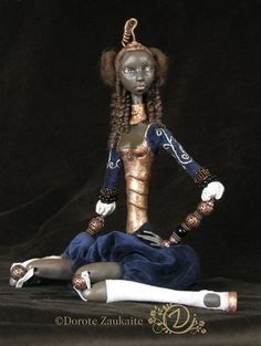 Unique art doll