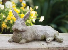 Charleston Gardens: Your source for seasonal and holiday decor, artisan-crafted home and garden furnishings and memorable gifts. Rabbit Sculpture, Art Sculpture, Garden Sculpture, Love Garden, Home And Garden, Cottage Style Furniture, Charleston Gardens, Urn Planters, Rabbit Art