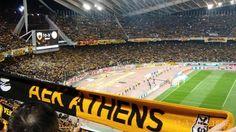 AEK The Great! Ragnar, Athens, Basketball Court, The Originals, Sports, Hs Sports, Sport, Athens Greece