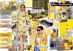 Amarillos y reflejos.