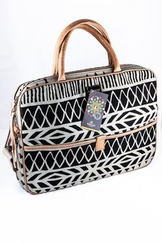 Mongoose Laptop Bag | Shop online now at www.GoodiesHub.com Mongoose, Leather Handle, Laptop Bag, Travel Bags, Shopping Bag, African, Women's Fashion, Collection, Design