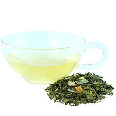 LizzyKate.com - Green Teas: Lemon Green Tea   We recommend Lemon Green Tea as a nice starter tea for anyone looking to drink more green tea. The lemon peel, lemon grass and natural lemon flavoring add a light tangy aroma and flavor to the green tea base.