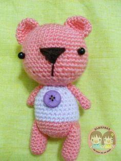 Free crocheting pattern: Lovely bear