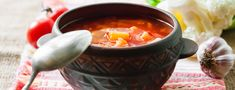 Hot and Sour Soup Recipe | Type2Diabetes.com Lunch Meal Prep, Lunch Menu, Breakfast Lunch Dinner, Recipe For Hot And Sour Soup, Grape Tomato Salad, Edamame Salad, Clam Sauce, Bean Soup Recipes, Protein Rich Foods