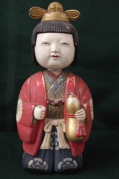 Antique Japanese/Oriental Nodding Figure Circa 1880~Signed.