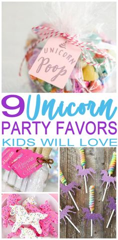 BEST Unicorn party favors! Amazing and magical party favors for a Unicorn  theme party. 2ac68353a