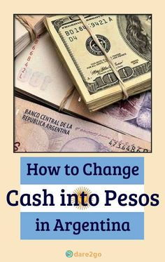 We show you ways to get cash Pesos in Argentina and take advantage of the much better 'Dollar Blue' exchange rates. Every visitor to Argentina should read this information before leaving home! #dolarblue #moneychanging #cashmoney #argentina #traveltip
