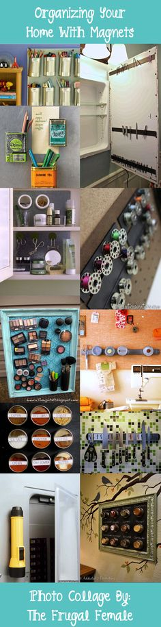 How To Organize Your Home With Magnets