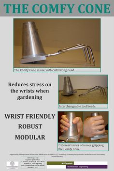 gardening aid for limited wrist and hand strength