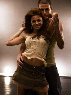 Channing Tatum and Jenna Dewan-Tatum as Tyler and Nora Step Up Movies, Good Movies, Beautiful Couple, Gorgeous Men, Magic Mike Movie, Hot Men, Hot Guys, Step Up Dance, Celebrity Crush