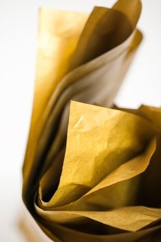 Gold Tissue Paper  Metallic Gold Tissue Paper by SoireeSupply